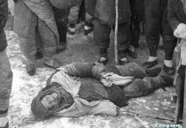 Nạn đói năm 1960 - Bước Đại Nhảy Vọt của Mao Trạch Đông Nguồn ảnh: Ziling.com