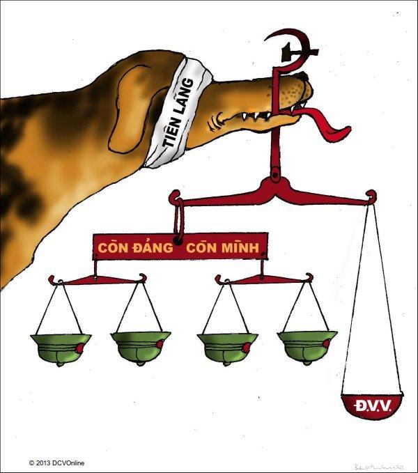 Tranh Babui: Công lý Cống Rọc. © 2013 DCVOnline