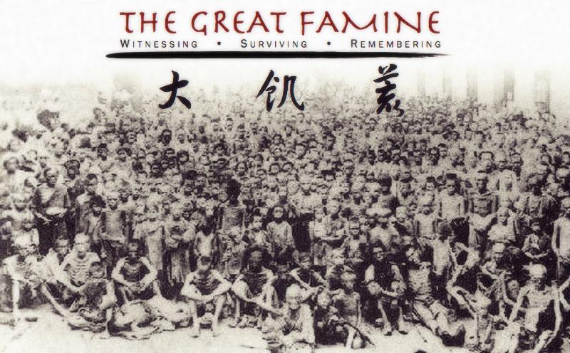 Nạn đói năm 1960 - Bước Đại Nhảy Vọt của Mao Trạch Đông Nguồn ảnh: theclubofcompulsivereaders.blogspot.ca