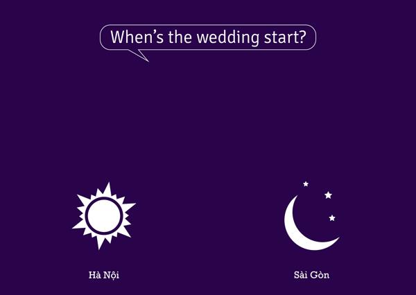 Khi nào thì tiệc cưới bắt đầu?