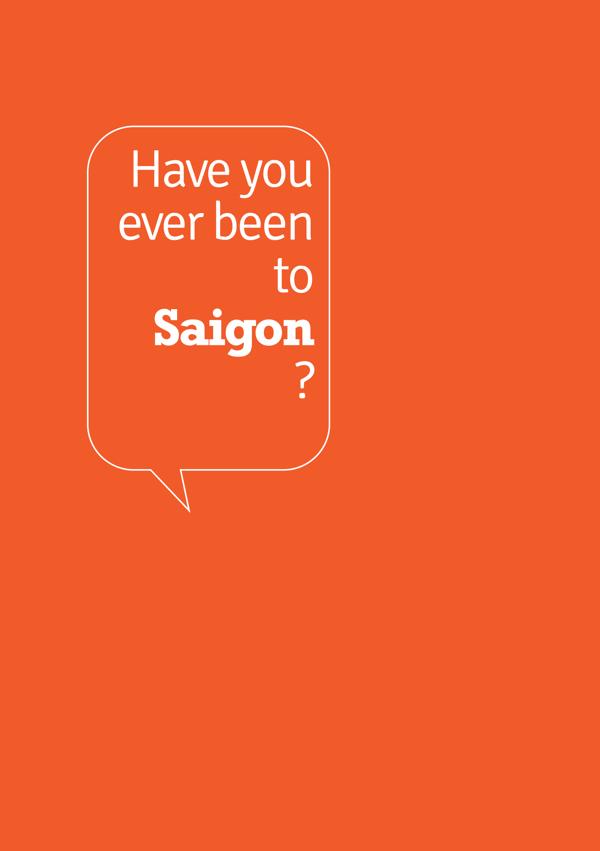 Bạn đã đến Saigon?
