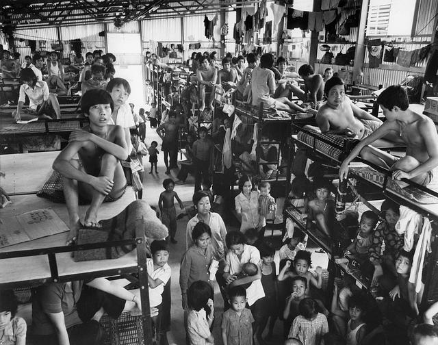 Trại Tị nạn Tai Pak tại Hong Kong. Nguồn Rè Cross UK