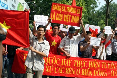 Hoàng Sa, Trường Sa là của Việt Nam. Nguồn: OntheNet