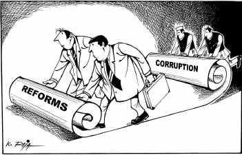 Thực sự đổi mới, diệt tham nhũng