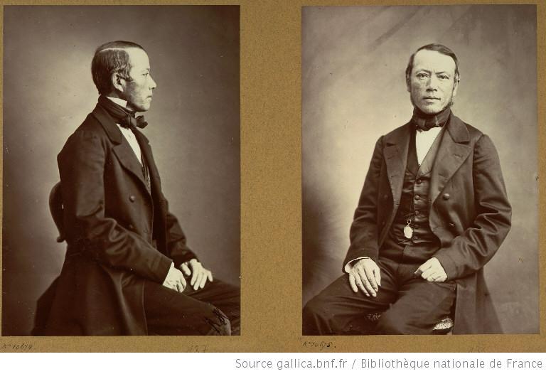 Miche Đức Vanier. Nguồn:  Jacques-Philippe Potteau chụp năm 1863 nhân dịp Đoàn sứ giả Việt Nam sang Paris.