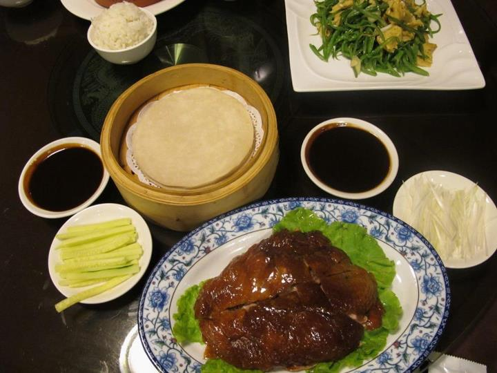 Món vịt quay Bắc Kinh