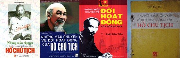 Sách của Hồ Chí Minh (bút danh Traadn Dân Tiên). Nguồn: ONtheNet