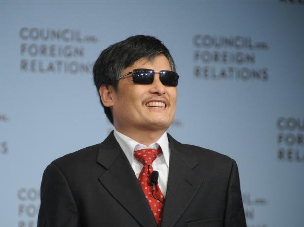 TTrần Quang Tahfnh trong buổi nói chuyện ở New York (May 31, 2012). Nguồn ảnh: Don Pollard / Council on Foreign Relations