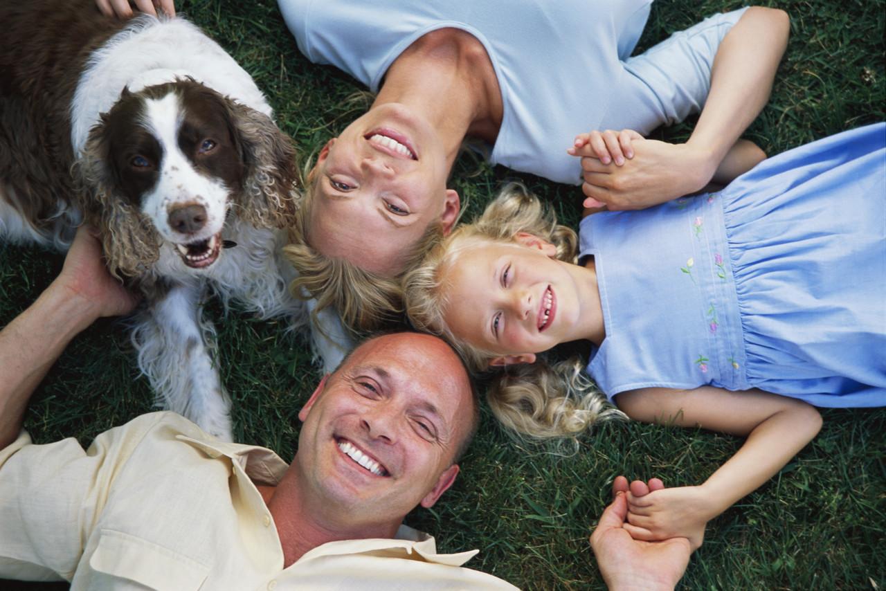 Một gia đình Mỹ. Nguồn: http://caninescholars.com/