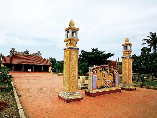Đình An Vĩnh (huyện đảo Lý Sơn, Quảng Ngãi) mới được công nhận di tích quốc gia 4.2013. Nguồ: NTĐA