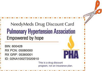 Thẻ giảm giá thuốc của NeedyMeds
