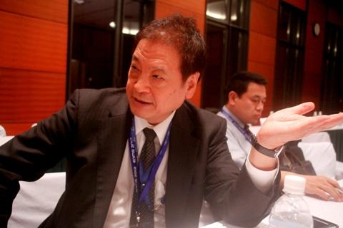 GS Tsuboi tại Hội thảo Việt Nam học lần thứ 4 (Hà Nội). Ảnh: Huỳnh Phan