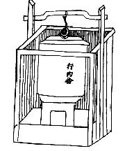 Lò và thùng nấu phở . Tài liệu của Henri Oger