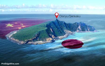 Tranh chấp ở quần đảo Sensaku-Diaoyu. Nguồn: