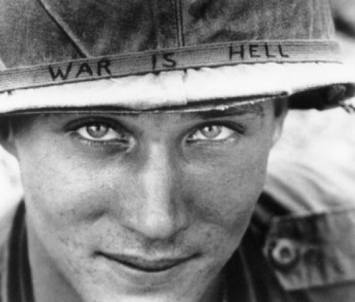 Một người lính Mỹ trong chiến tranh Việt Nam. Nguồn AP.