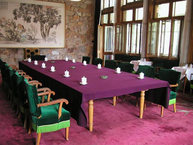 Bên trong biệt thự của Mao ở Vũ Hán. Nguồn: Flickr.com