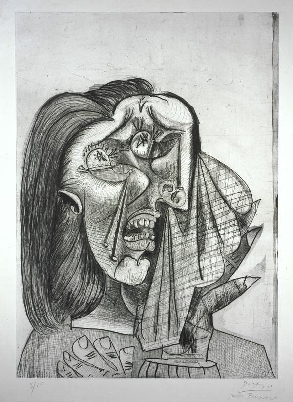 La Femme qui Pleure I (Weeping Woman I) Pablo Picasso