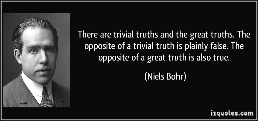Niels Bohr. Nguồn: izquotes.com