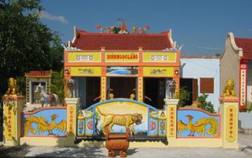 Đình Ngọc Lãng (làng Ngọc Lãng, xã Bình Ngọc, TP Tuy Hòa). Nguồn ảnh: Danh Hạnh