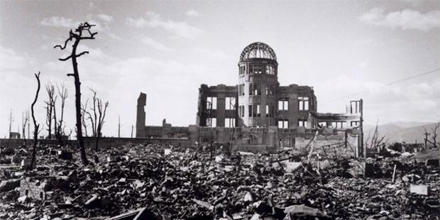 Hiroshima bị bom nguyên tử tàn phá. Nguồn: www.icanw.org