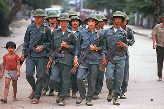 Quân đội Nhân dân Việt Nam... Nguồn: OntheNet