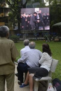 Trực tiếp tang lễ tướng Võ Nguyên Giáp (Hà Nội, 12/10/2013), Nguồn ảnh: AP Photo/Hoang Dinh Nam, Pool