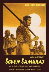 Seven Samurai. Nguồn: gabrielglewis.com