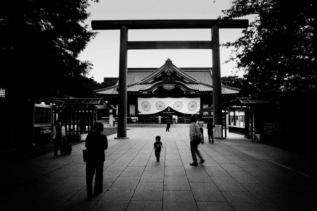 Đền Yasukuni Jinja. Nguồn: annefrank.arte.tv