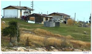 Cộng đồng bản địa ở Pukatawagan, Man., 900 km về phía bắc Winnipeg (Canada). Nguồn: CTVNews.ca