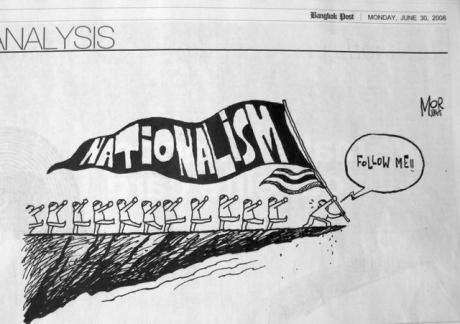 Chủ nghĩa Dân tộc. Nguồn: Bangkok Post