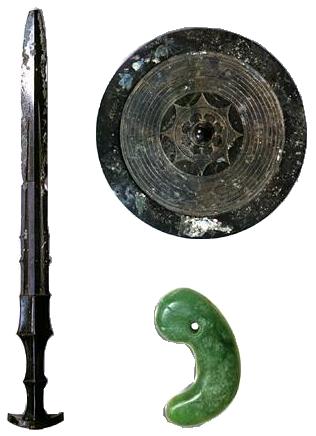 Tam thần khí văn hoá. NGuồn: en.wikipedia.org