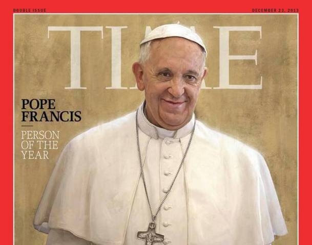 Pope Francis, Nhân vật năm 2013 - TIME Magazine