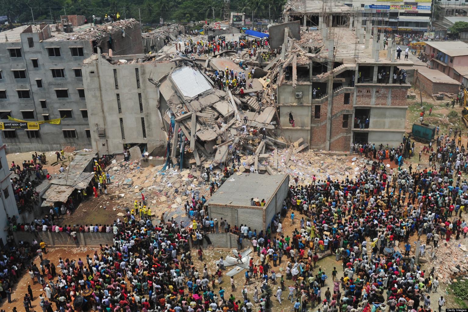 Thảm hoạ công nghiệp tại Bangladesh. Nguofn: (MUNIR UZ ZAMAN/AFP/Getty Images)