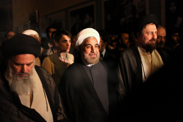 Tổng thống  Hassan Rouhani của Iran 2013. Nguồn: Ebrahim Noroozi / AP