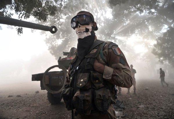 Lính Pháp ở châu Phi (2013). Nguồn: Issouf Sanogo / AFP / Getty Images