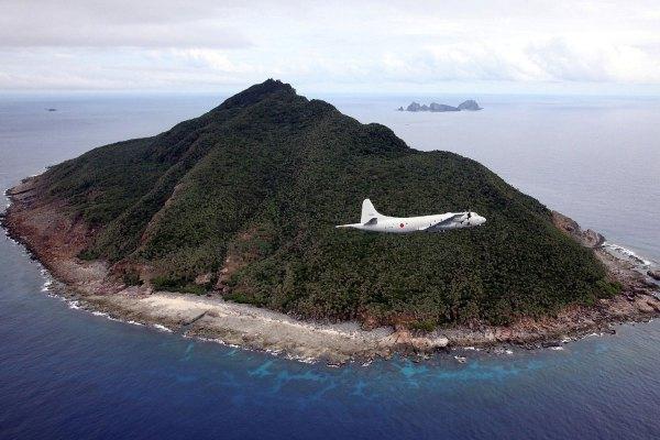 Sensaku trong vùng biển tranh chấp Trung-Nhật. Nguồn: AFP / Getty Images