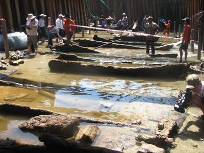 Con tàu từ thế kỷ 13 còn khá nguyên vẹn. Nguồn: Dân Việt
