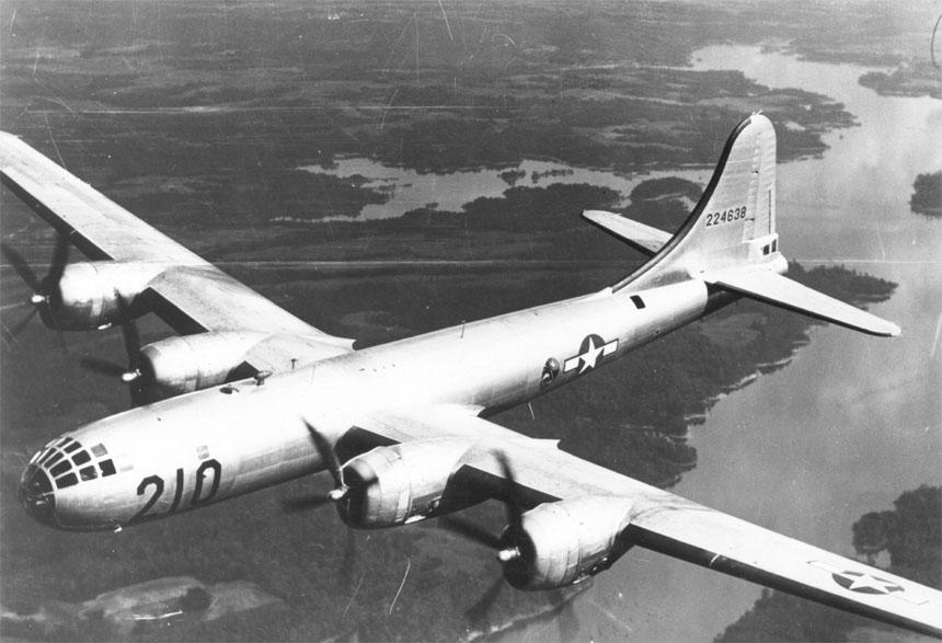 Máy bay thả bom B29. Nguồn: Wikipedia.org