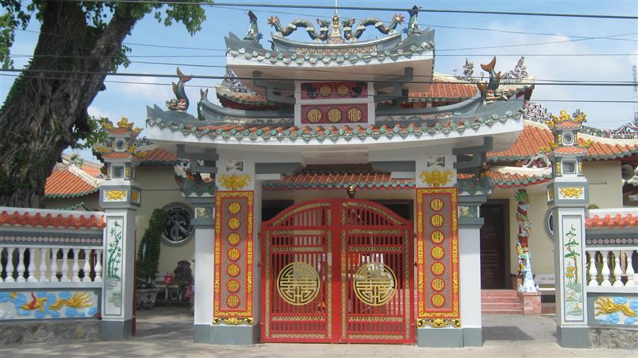 Đình thần Nguyễn Trung Trực ở Rạch Giái. Nguồn: yesvietnam.info