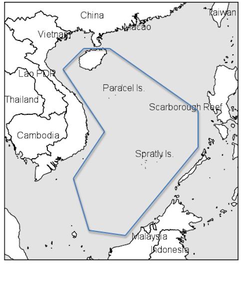 Trung Quốc áp đặt biên giới ngư trường: Quy định mới (của TQ) áp đặt ngày 1 tháng giêng giới hạn tất cả các tàu thuyền nước ngoài không được đánh bắt cá trong một khu vực bao gồm hai phần ba vùng biển Đông (phía nam biển Trung Hoa). Nguồn:  Washington Free Beacon