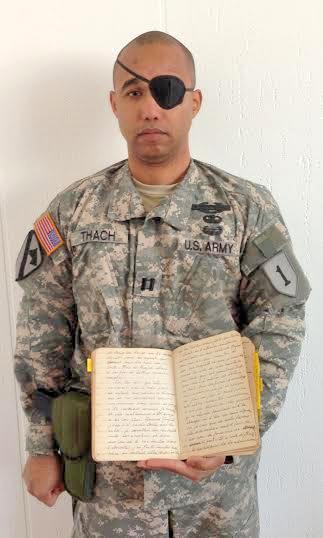 Đại úy James Van Thach vf cuốn nhật ký 59-63của bà Nhu. Nguồn Capt. JVT