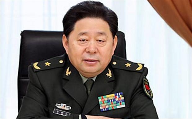 Trung tướng Gu-Junshan. SCMP Pictures