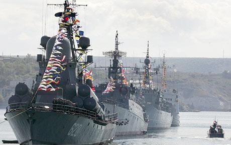 Hạm đội Biển Đen của Nga. Nguồn: Toronto Sun