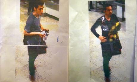 Hai hành khách người Iran dùng passort bị đánh cắp lên tàu đi Bác Kinh. Nguồn: Joshua Paul Gilbert/REX