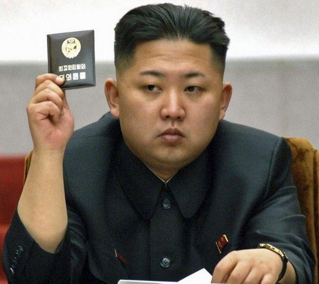 Đại tường lãnh tụ tối cao Bác Hàn, Kim Jong-un, đắc cử 100%.