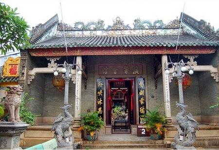 Cổng vào Hội quán Quảng Đông (Hội An). Nguồn: vietnamtravellook.com