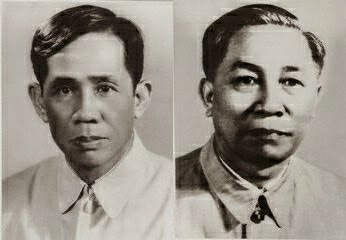 Lê Duẩn (t), Lê Đức Thọ (p): theo Liên Xô Nguồn: DCVOnline