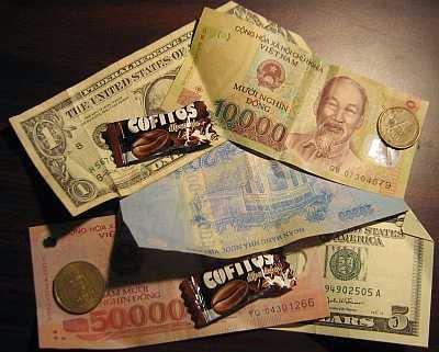 Hai đợt đổi tiền năm 1975 và 1978