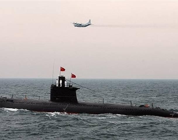 Tàu ngầm Trung Quốc. Nguồn: allvoices.com