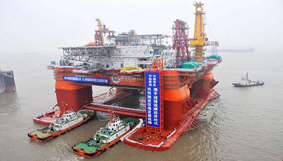 Giàn khoan HD-981 của TQ. Nguồn: baomoi.com